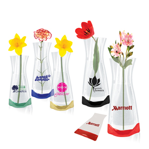 Collapsible Flower Vase  sc 1 th 225 & Collapsible Flower Vase - Printed Pop Up Vase - RT Promotions
