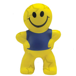 Smiley Man Stress Toy